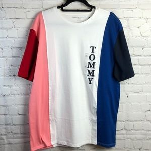 Tommy Hilfiger multi color short sleeve tee